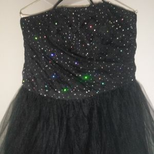 Dresses - Prom dress black by linda Berneli size 14